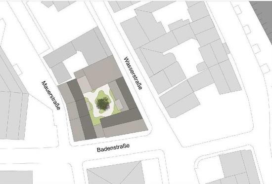 Lageplan Wohnquartier 14 Altstadt Stralsund
