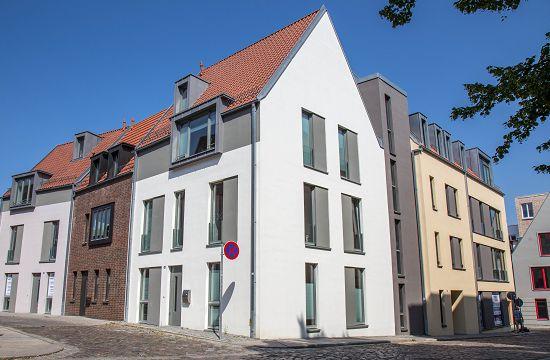 Wohnquartier Q14 Südansicht Mauerstraße